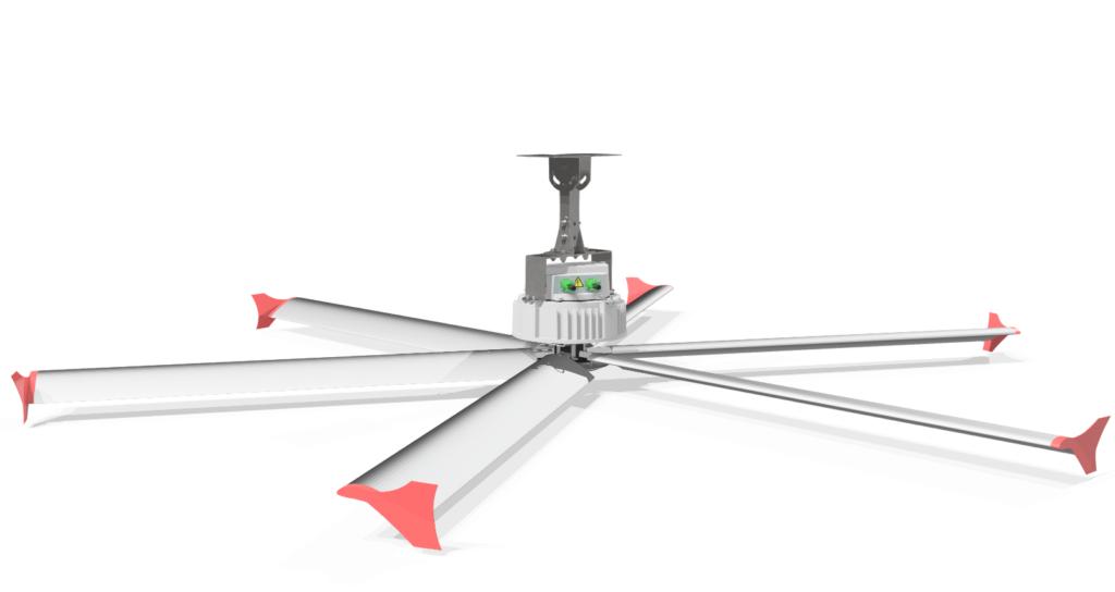 HVLS ventilátor Skyblade